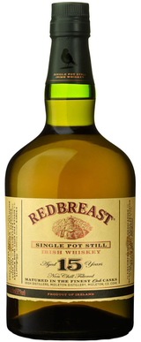 Redbreast Single Pot Still Irish Whiskey 15 year old