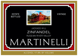 Martinelli Jackass Hill Zinfandel 2014