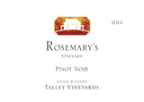 Talley Vineyards Rosemary's Vineyard Pinot Noir 2014