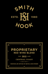 Smith and Hook Proprietary Red Blend 2013