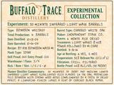 Buffalo Trace Experimental Collection 30 Minute Infrared Light Wave Barrel Bourbon