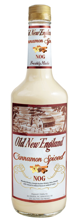 Old New England Cinnamon Spiced Egg Nog