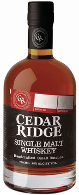 Cedar Ridge Single Malt Whiskey