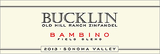 Bucklin Bambino Field Blend Old Hill Ranch Zinfandel 2013