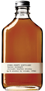 Kings County Distillery Barrel Strength Bourbon