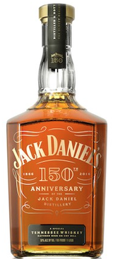 Jack Daniel's 150th Anniversary Tennessee Whiskey 100 Proof