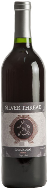 Silver Thread Blackbird Red Wine 2013