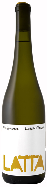 Latta Wines Lawrence Vineyard Roussanne 2013