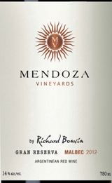 Mendoza Vineyards Gran Reserva Malbec 2012