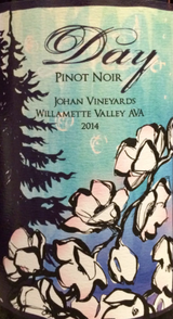 Day Wines Johan Vineyard Pinot Noir 2014