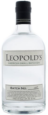Leopold Brothers American Small Batch Gin