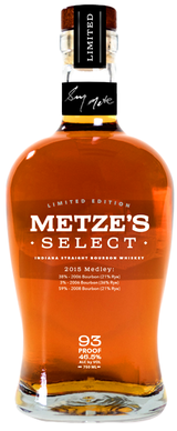 Metze's Select Medley Indiana Straight Bourbon Whiskey 2015