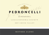 Pedroncelli Mother Clone Zinfandel 2014