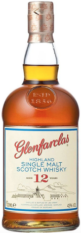 Glenfarclas Single Malt Scotch Whisky 12 year old