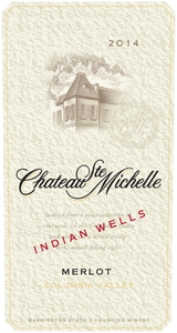 Chateau Ste. Michelle Indian Wells Merlot 2014