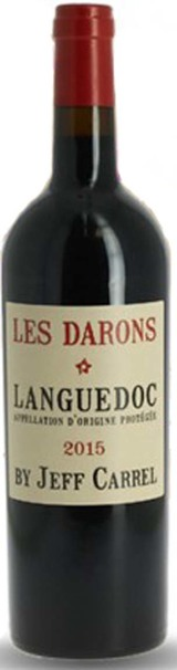 Jeff Carrel Les Darons Languedoc Rouge 2015