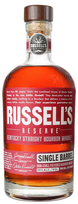 Russell's Reserve Single Barrel Reserve Kentucky Straight Bourbon Whiskey