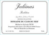 Michel Tete Julienas Tradition 2015