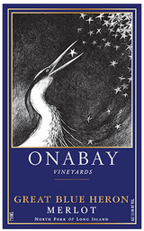 Onabay Vineyards Great Blue Heron 2013