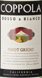 Francis Ford Coppola Rosso & Bianco Pinot Grigio 2015