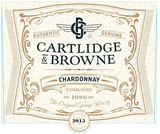 Cartlidge & Browne Chardonnay 2015