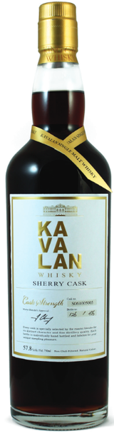 Kavalan Sherry Cask Whisky Cask Strength