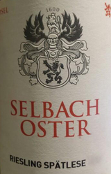 Selbach-Oster Riesling Spatlese 2015