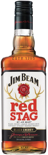 Jim Beam Red Stag Black Cherry Bourbon