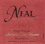 Neal Family Vineyards Rutherford Dust Zinfandel 2013