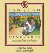 San Juan Vineyards Red Wine 2012
