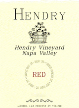 Hendry Napa Valley Red Wine 2013