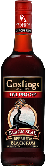 Gosling's Black Seal 151 Proof Rum
