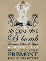 Fremont Brewing B-bomb Winter Ale Limited Release 2016