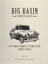 Big Basin Vineyards Alfaro Family Vineyard Pinot Noir 2013