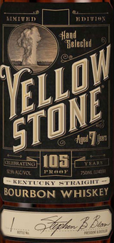 Yellowstone Limited Edition Kentucky Straight Bourbon Whiskey 2016