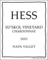 Hess Collection Chardonnay 2014