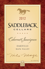 Saddleback Cellars Cabernet Sauvignon 2012