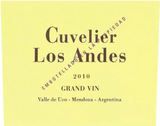 Cuvelier Los Andes Grand Vin 2010