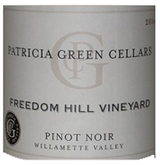 Patricia Green Freedom Hill Pinot Noir 2015