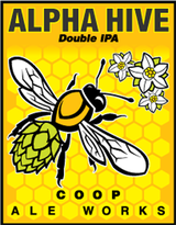Coop Ale Works Alpha Hive Double IPA