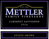 Mettler Family Vineyards Cabernet Sauvignon 2014
