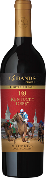 14 Hands Kentucky Derby Red Blend 2014