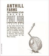 Anthill Farms Comptche Ridge Pinot Noir 2014