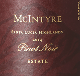 McIntyre Vineyards Estate Pinot Noir 2014