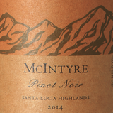 McIntyre Vineyards Santa Lucia Highlands Pinot Noir 2014
