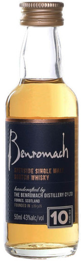 Benromach The Classic Speyside Single Malt Scotch Whiskey 10 year old