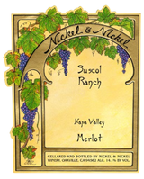 Nickel & Nickel Suscol Ranch Vineyard Merlot 2014