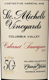 Image result for 2015 Ste. Michelle Vineyards Cabernet Sauvignon