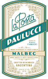 La Posta Angel Paulucci Vineyard Malbec 2015
