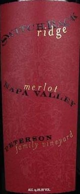 Switchback Ridge Peterson Family Vineyard Merlot 2011